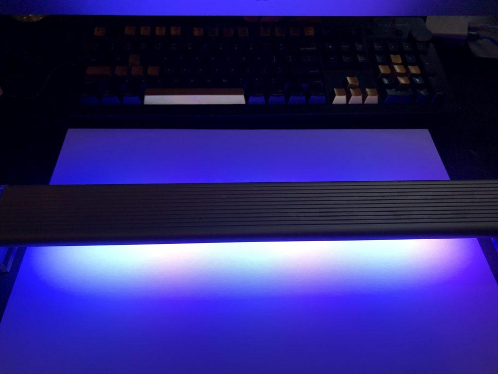 Chihiros Marine White with Blue light